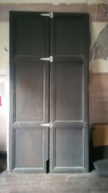 Old French Oak doors very tall