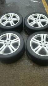 17 in alloys wheels for sale