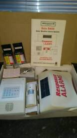 Sola S400 Solar wirefree alarm system boxed new!set up for home,garage tc.!Can deliver or post