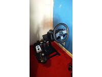 Logitech G27 Racing Wheel + GT Omega Wheel Stand
