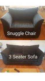 3 Seater and Suggle Chair