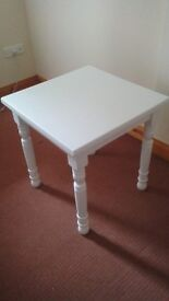 White square table ONLY £30