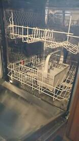🤗 ZANUSSI INTEGRATED DISHWASHER £20 needs new pump or for spares.