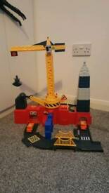 ELC demolition crane playset