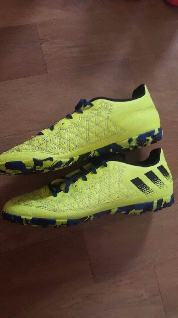 Adidas football boots turf size 11UKin Ealing Broadway, LondonGumtree - boots in good condition. Played in them 5 times but had to quit playing due to injury