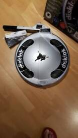 Silver disc lock
