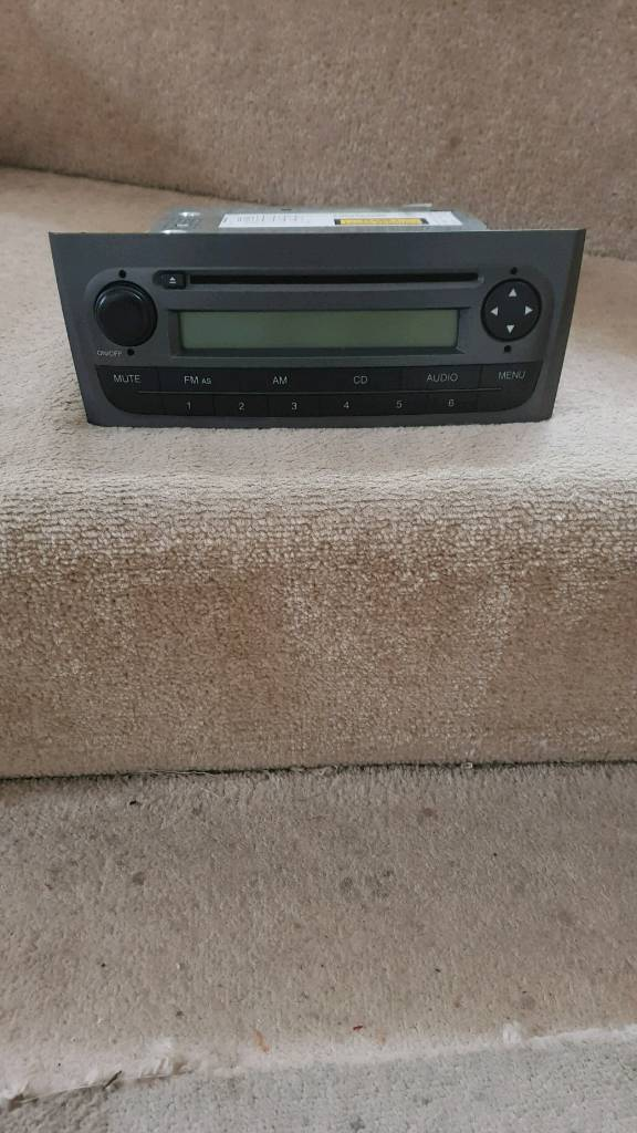 fiat punto cd player (manufacture one)