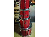 PEARL EXPORT 22 INCH BASS DRUM WINE RED