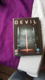 Devil DVD unopened