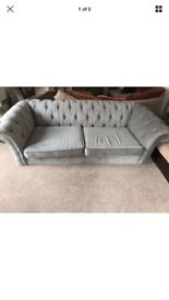 Large Next Gosford Sofa, Mid Dove
