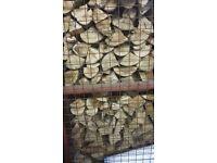 Semi seasoned firewood