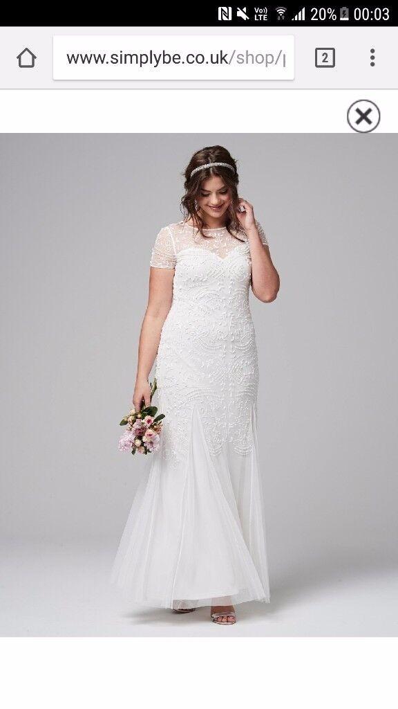 Joanna Hope Wedding Dress Size 22