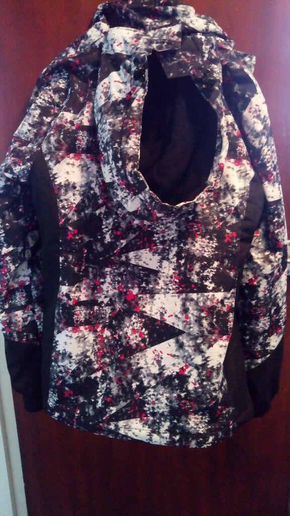 970207518c Mountain Warehouse Dawn Womens Printed Ski Jacket