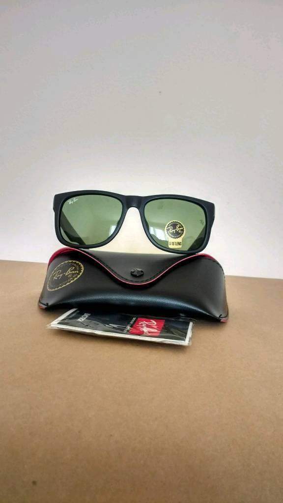 Rayban Justin sunglasses matte black