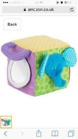 Unisex baby activity cube
