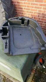 Astra Twintop spare wheel well insert.