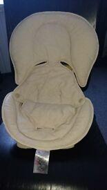 Universal newborn car seat insert