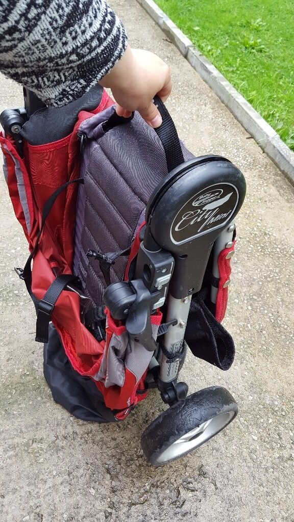 Baby jogger city miniin Crumpsall, ManchesterGumtree - Baby jogger city mini...incl rain cover bag and foot muff... very easy to drive.. need some tlc but all parts come off and can be washed in washing machine.pets and smoke free home Pic in comments