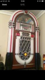 Juke box cd player