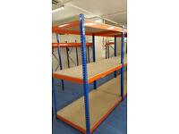 Heavy Duty Racking Warehouse Garage Storage Bays 1980(h) x 1525(w) x 915mm(d) 3 level bays