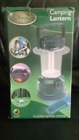 kingfisher rechargeable camping lantern with remote control