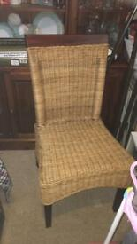 Solid wood single chair