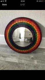 Multicoloured mirror