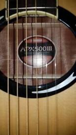 Brand new in case guitar