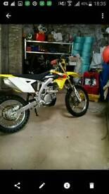 Suzuki rmx enduro road legal bike 450 2012