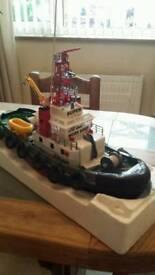 Large motorised tug boat..no motor etc..fab codituon..