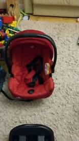 Joie car seat and base unit
