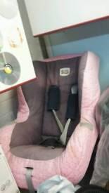 Britax eclipse car seat pink