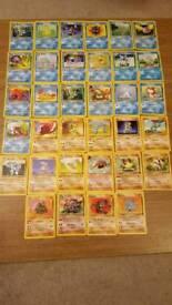 Pokemon cards 1999 WOTC
