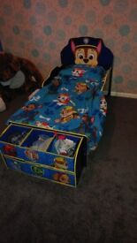 Paw patrol bed room set