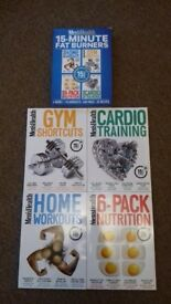 Body building and mens fitness books. £5- £10