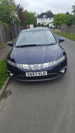 57 honda civic 2.2 CDTI for sale £2300