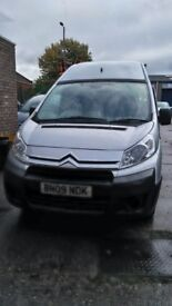 Citroen Dispatch 09 reg panel van.