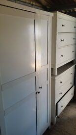 wardrobe and Drawer Chest