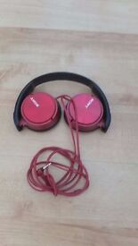 Folding Stereo Headphones - Metallic Red - Sony - MDRZX310RQ