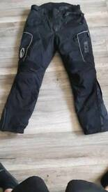 Richa textile bike trousers