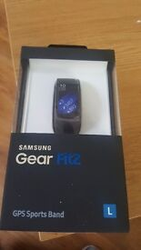 Samsung gear fit 2 brand new still in box un opened
