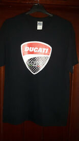 DUCATI CORSE - REPLICA T-SHIRT - LARGE -BRAND NEW NEVER WORN - £12
