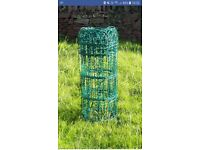 15ft Green PVC arch fencing
