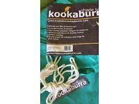 Kookaburra 3m triangle waterproof shade sail NEW