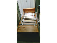 Childrens Bed - Extendable, pine, Ikea