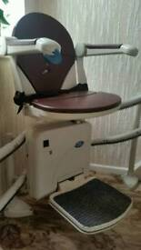 Minivator 2000 Stairlift with 2 remote controls