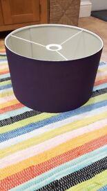 "Purple Lampshade 16"""