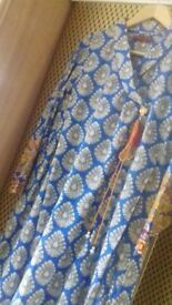 KHAADI PRET SIZE 12 KURTA EMBROIDERY 100%cotton.