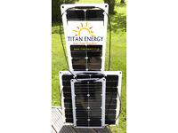 Brand New 50W Flexible Solar Panel+100W Solar PanelsTitan Energy UK