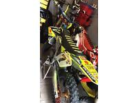 RMZ 450 Suzuki, motocross crf kxf etc swaps part ex